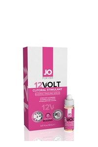 System JO 12 volt clitoris serum