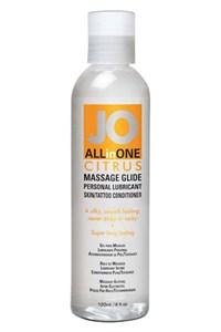 System JO citrus massage gel