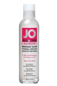 System JO Cranberry massage gel